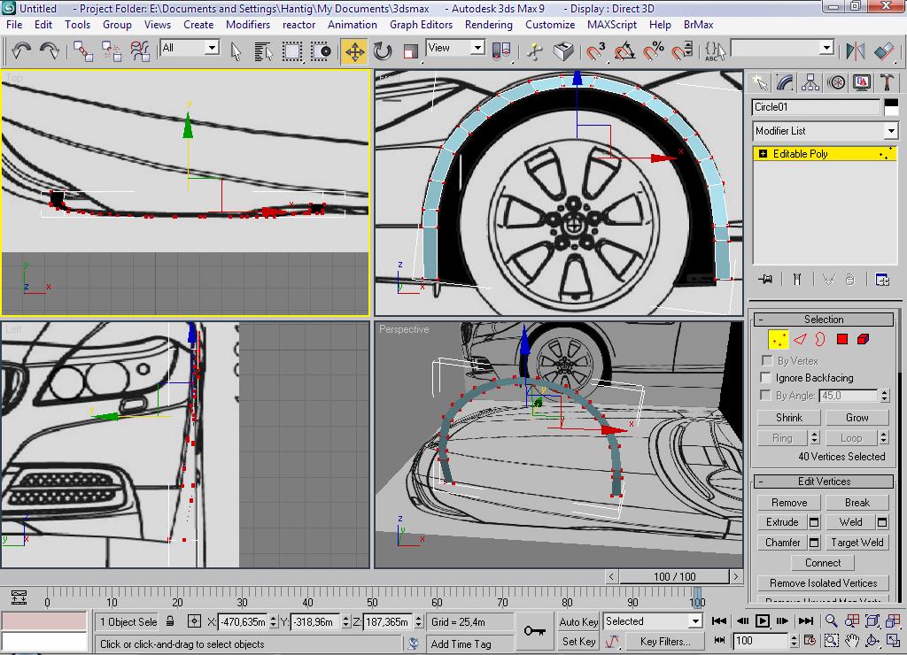 Car modeling bmw z4 part 1 free3dtutorials step malvernweather Images