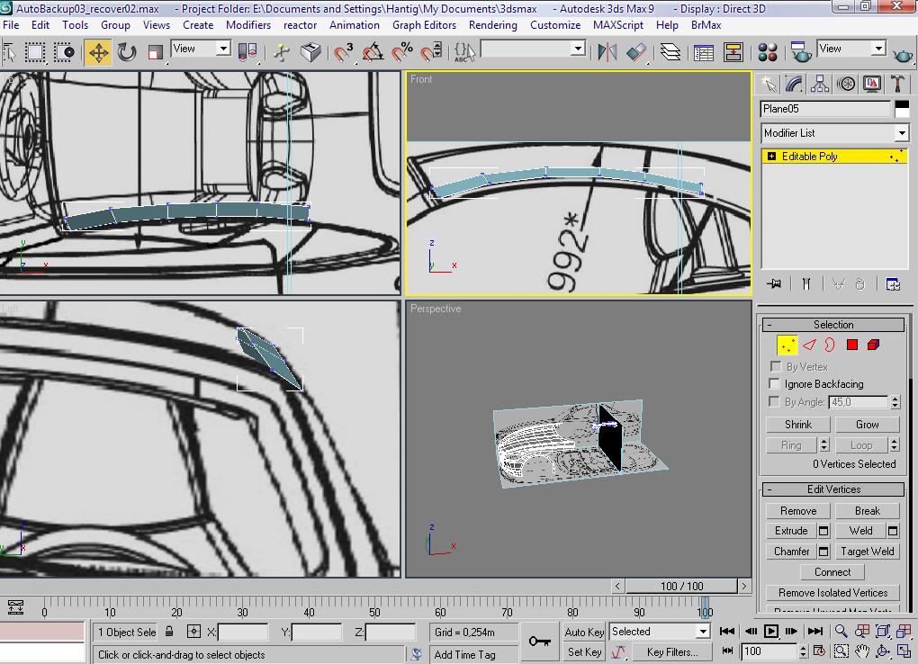 Car modeling – BMW Z4 – Part 2 | free3DTutorials com