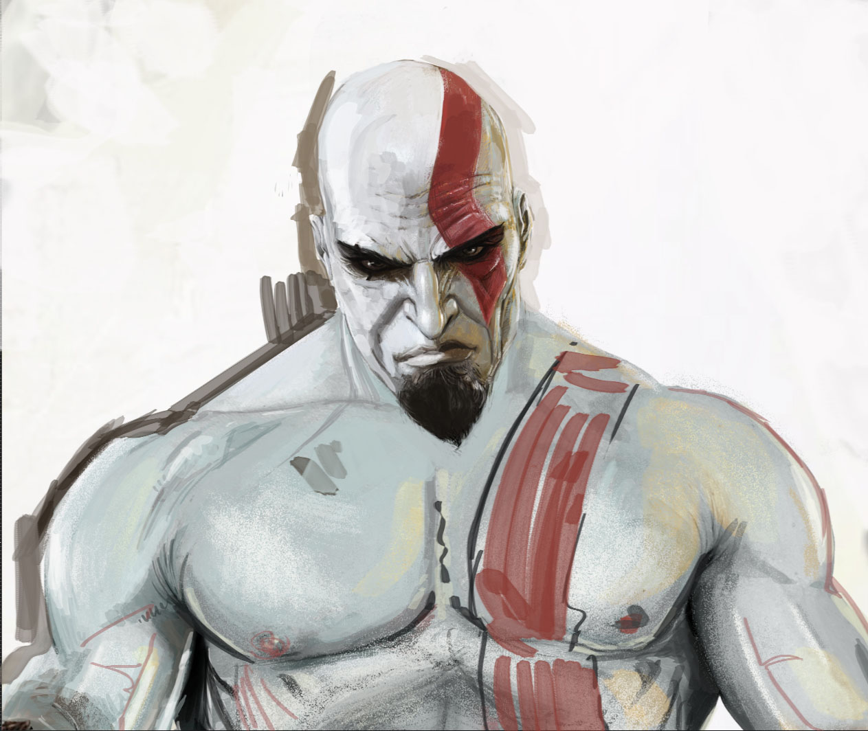 Kratos God Of War Free3dtutorials Com