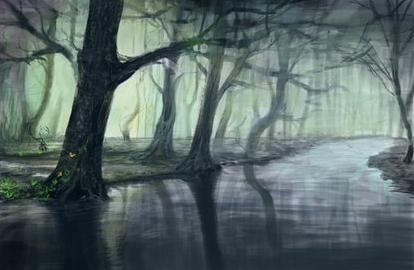 Ihor-Reshetnikov-Photoshop-Fantasy-Forest-Work-Progress
