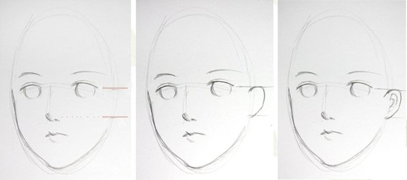 Hellobaby face tutorial drawing