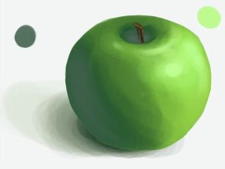 Mirko-Cogo-Photoshop-Step-by-Step-how-to-draw-Apple