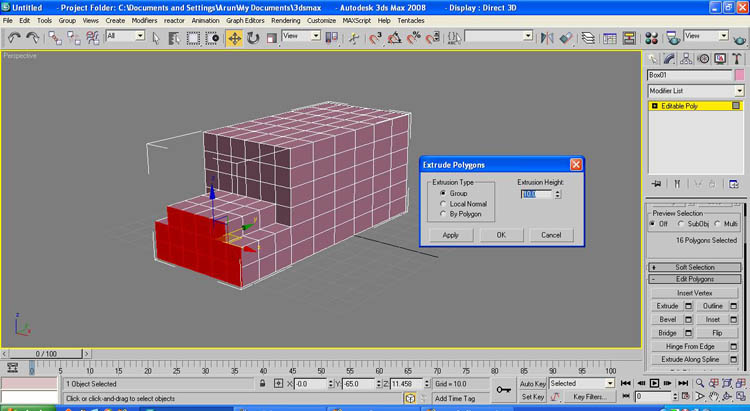 Box modeling for beginners 3ds max for 3d max lessons for beginners