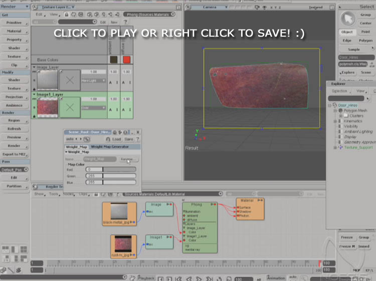Texture Painting with Softimage/XSI – Part 1 | free3DTutorials com