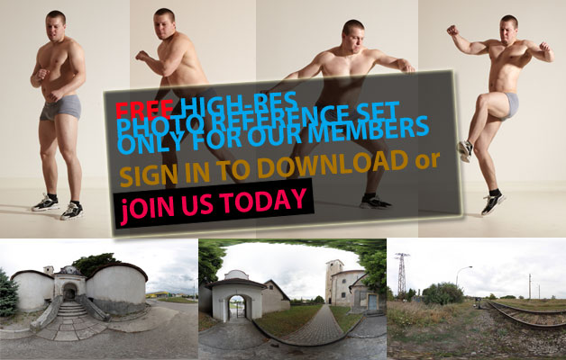 FREE photo reference sets for you – only for registered members