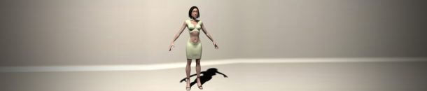 Character modeling – Girl – part 1