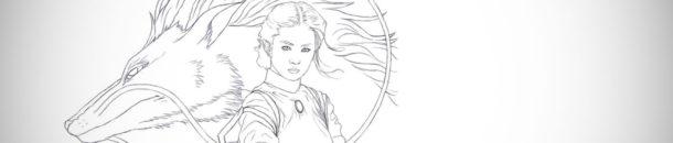 Digital painting tutorial – Spirited away – Part 1