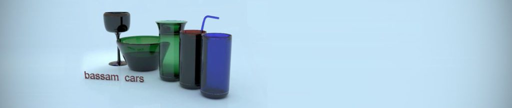 Designing cups in 3ds Max + Vray rendering