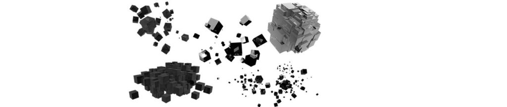 Create abstract 3d cubes in Cinema 4D
