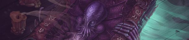 Photoshop – Cthulhu's Book – Work Progress