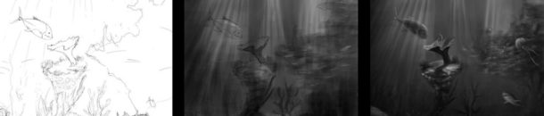 Photoshop – Underwater – Work Progress