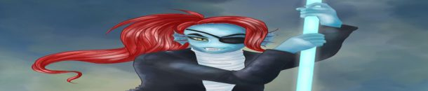 Photoshop – Speedpaint – Undyne from Undertale