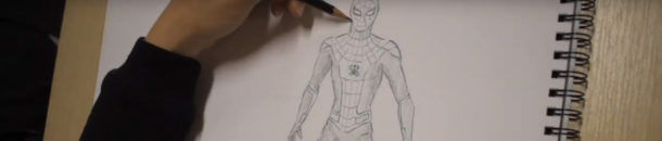 #3 Drawing a Comic Character – Spiderman