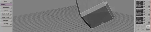 Transforming Objects with the Mouse Pointer