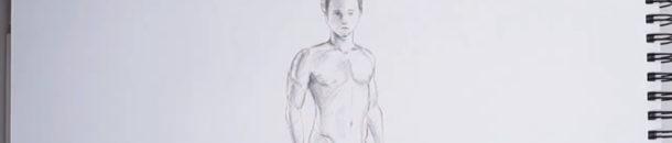 #7 Drawing a Comic – Male body