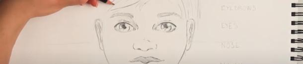 #9 Drawing a Comic Head – Children